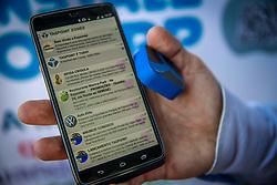 App de acessibilidade durante a 38ª Expointer, que ocorre entre 29 de agosto e 06 de setembro de 2015 no Parque de Exposições Assis Brasil, em Esteio. FOTO: Emmanuel da Rosa/ Agência Preview