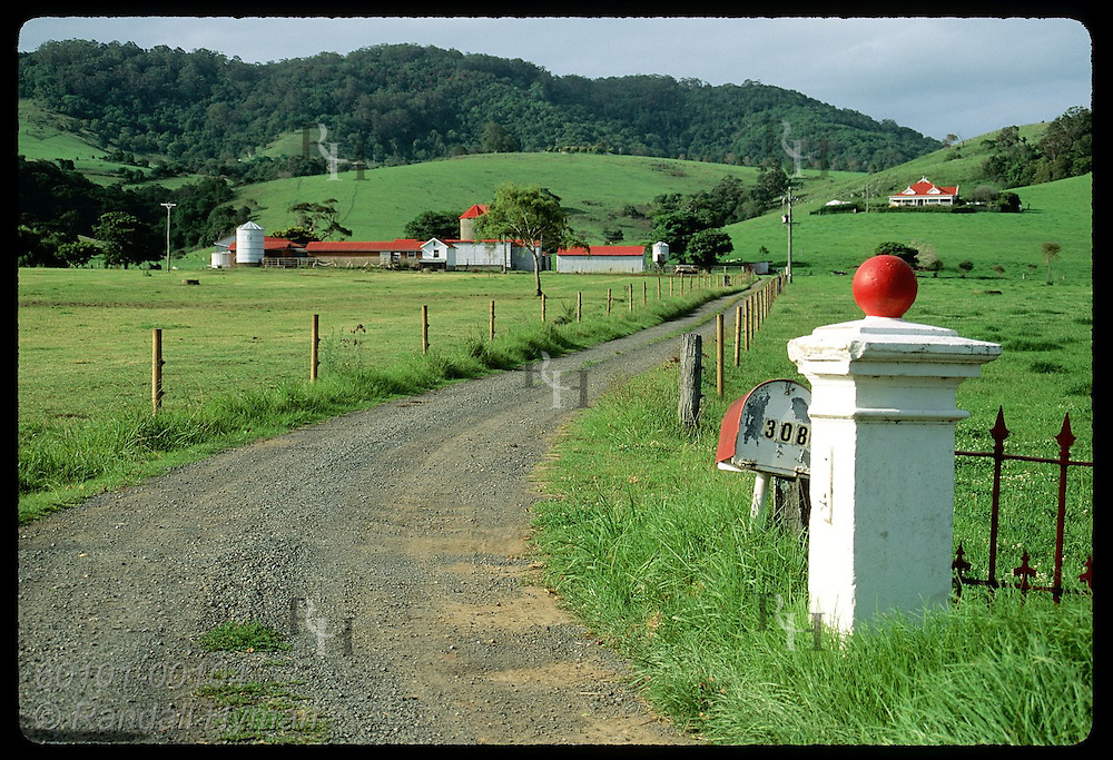Innisfall Farm nestles in verdant dairy pastures along the coast south of the town of Kiama, NSW. Australia