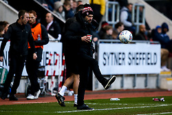 Rotherham United manager Paul Warne - Mandatory by-line: Robbie Stephenson/JMP - 18/01/2020 - FOOTBALL - Aesseal New York Stadium - Rotherham, England - Rotherham United v Bristol Rovers - Sky Bet League One