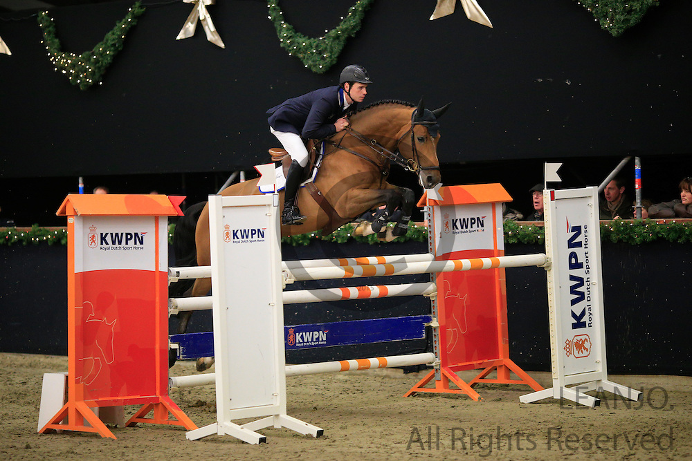 Michel Hendrix - Bustique<br /> KNHS/KWPN GMB Hengstencompetitie Roosendaal 2012<br /> © DigiShots