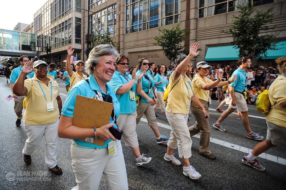 Parade of Nations. The 2012 World Choir Games kicked off the second week of competition with an impressive parade through the streets of downtown Cincinnati. The Games, which started on July 4, continue through July 14, bringing together more than 360 choirs to the Cincinnati area. (Photo: Sean Hughes)