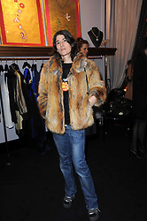 BELLA FREUD at the opening of Jade Jagger's shop at 43 All Saints Road, London W11 on 25th November 2009.