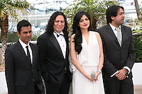 Ashim Ahluwalia, Anil George, Niharika Singh, Nawazuddin Siddiqui at the Miss Lovely film photocall at the 65th Cannes Film Festival France. Thursday 24th May 2012 in Cannes Film Festival, France.