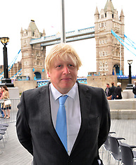 JUNE 24 2013 Boris Johnson at City Hall Flag Raising Ceremony