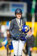 Pippa Goddard - Chilli<br /> FEI WBFSH World Breeding Jumping Championships for Young Horses 2017<br /> © DigiShots