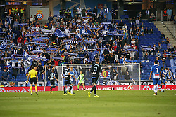 September 18, 2017 - Barcelona, Spain - RCD Espanyol supporters during La Liga match between RCD Espanyol v Celta , in Barcelona, on September 18, 2017. (Credit Image: © Joan Valls/NurPhoto via ZUMA Press)