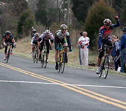 Toyota Pro Cycling wins the 2006 Jefferson Cup Cycling race - Charlottesville, VA - March 26, 2006.<br />