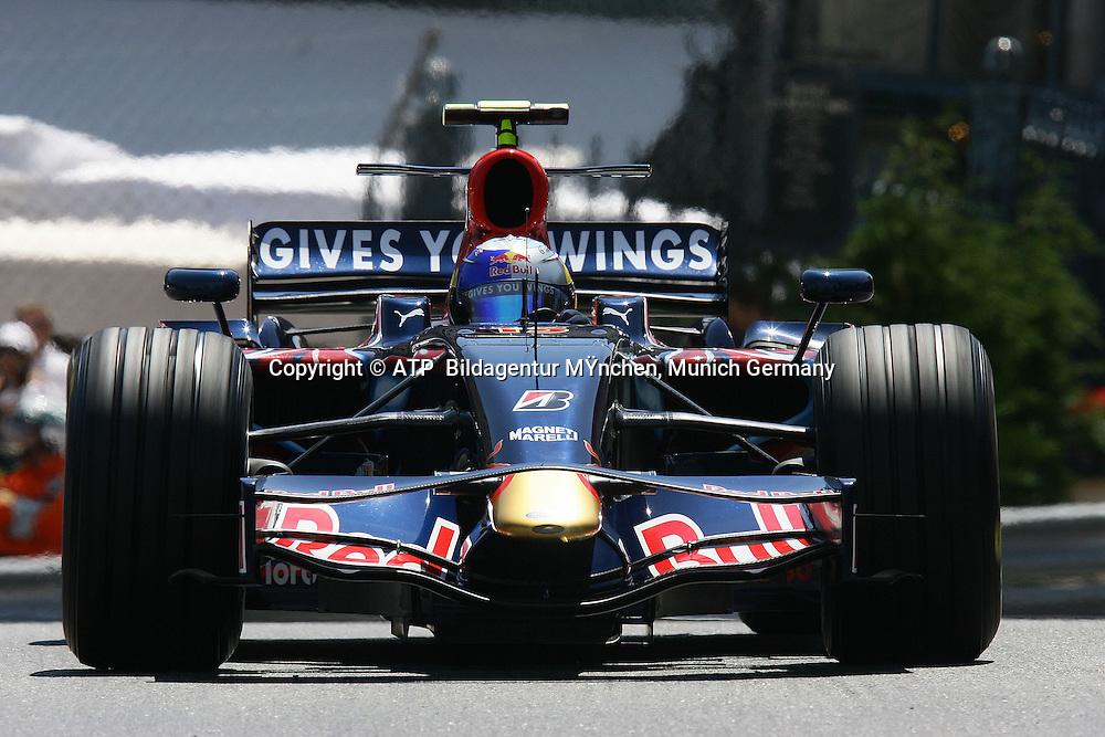 Sebastian Vettel, Scuderia Toro Rosso. Monaco F1 Grand Prix. 25 May 2008. Photo: ATP/PHOTOSPORT