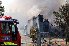 Alexandra-Fire destroys honey shed
