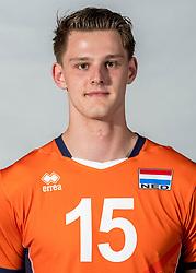 08-06-2018 NED: Photoshoot selection of Orange Young Boys, Arnhem <br /> Orange Young Boys 2018 - 2019 / Jesper van Muijden #15 of Netherlands