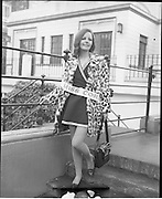 04/01/1969.01/04/1969.04 January 1969.Finalists of Miss/Ireland/Miss Europe Competition at the Mansion House, Dublin. .Brenda McCarthy 23, Glanmire Road Cork, (Miss Cork) who was amongst the finalists in the Miss Ireland/Miss Europe competition photographed when they visited the Lord Mayor of Dublin at the mansion House, Dublin.