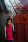 Young Girl. Agave Farm, Mexico.