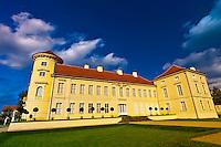 Schloss Rheinsberg (castle), Rheinsberg, Germany