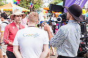 As part of Mardi Gras, Google Australia teams up with Twenty 10 and Toby Martin to create a love song celebrating that love is stronger than hate. -22 Feb 2015