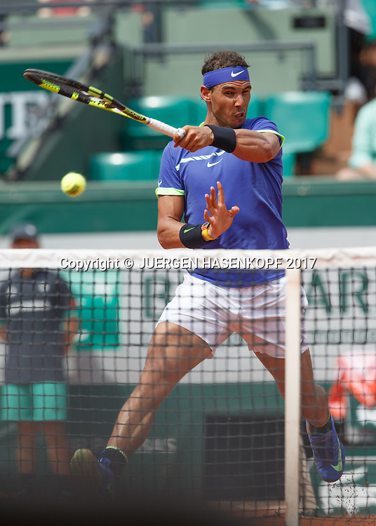 RAFAEL NADAL (ESP)<br /> <br /> Tennis - French Open 2017 - Grand Slam ATP / WTA -  Roland Garros - Paris -  - France  - 29 May 2017.