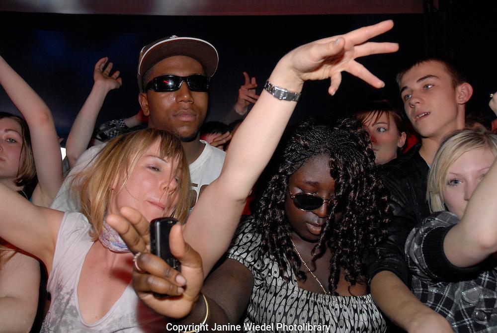 Love Music Hate Racism Festival Victoria Park East London April 2008.