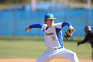 Oxford High's Pittman Phillips (3) pitches vs. Horn Lake in Oxford, Miss. on Wednesday, March 13, 2013.
