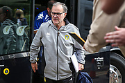 Leeds United manager Marcelo Bielsa during the Pre-Season Friendly match between Forest Green Rovers and Leeds United at the New Lawn, Forest Green, United Kingdom on 17 July 2018. Picture by Shane Healey.