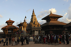 Temples in the Ancient city of Bhaktapur, Nepal. (Photo © Jock Fistick)