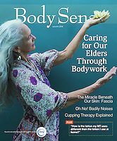 Body Sense Magazine Cover featuring photography by Elena Ray