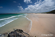Porth Kidney Sands, Carbis Bay, near Lelant and St. Ives, Cornwall, Great Britain, United Kingdom