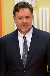 © Licensed to London News Pictures. 19/05/2016.  RUSSELL CROWE attends The Nice Guys UK film premiere. London, UK. Photo credit: Ray Tang/LNP