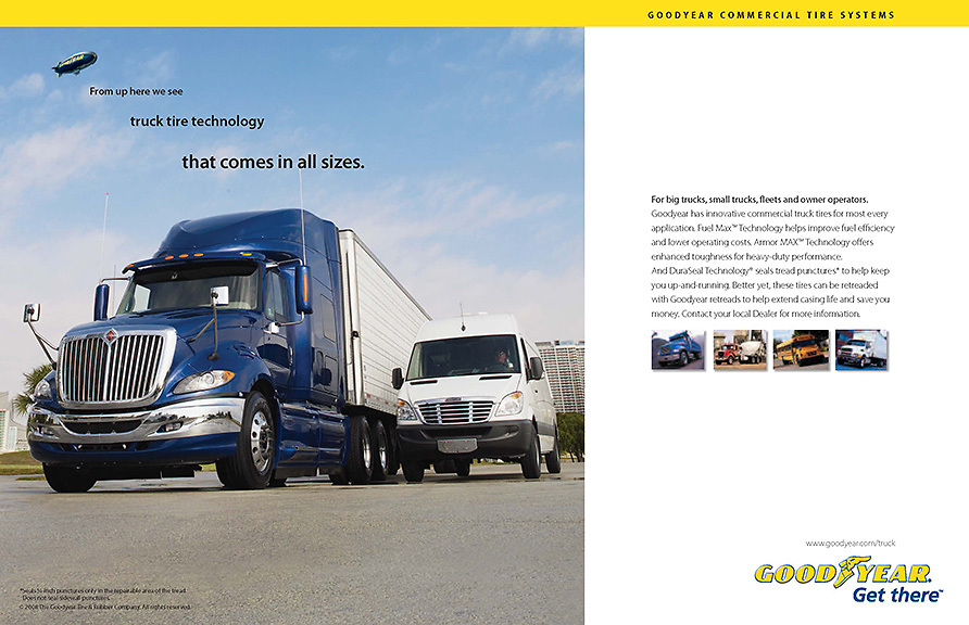 Goodyear Truck tire ad
