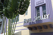 Shelley Hotel, 844 Collins Avenue, Miami Beach, FL 33139..Florida 2009..Foto © Stefan Falke.