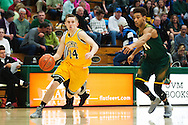 Vermont's Cam Ward (14) drives to the hoop during the men's basketball game between the Lyndon State Hornets and the Vermont Catamounts at Patrick Gym on Saturday afternoon November 19, 2016 in Burlington (BRIAN JENKINS/for the FREE PRESS)