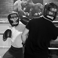 Monifieth Athletic Under 14s football club - boxing training - 22.11.11