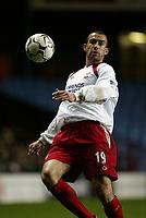 Fotball, 29. november 2003, Premier League, Aston Villa - Southampton 1-0,  Dany Higginbotham, Southamton