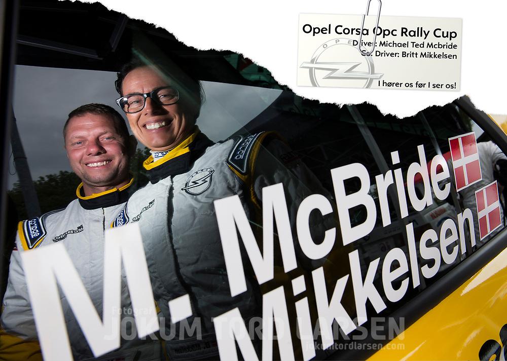 McBride Autograph Card 2016