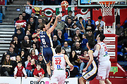 Poeta Giuseppe<br /> Victoria Libertas Pesaro - FIAT Torino<br /> Lega Basket Serie A 2017/2018<br /> Pesaro, 11/02/2018<br /> Foto A.Giberti / Ciamillo - Castoria