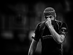 Dragons' Cory Hill<br /> <br /> Photographer Simon King/Replay Images<br /> <br /> Guinness PRO14 Round 1 - Dragons v Benetton Treviso - Saturday 1st September 2018 - Rodney Parade - Newport<br /> <br /> World Copyright © Replay Images . All rights reserved. info@replayimages.co.uk - http://replayimages.co.uk