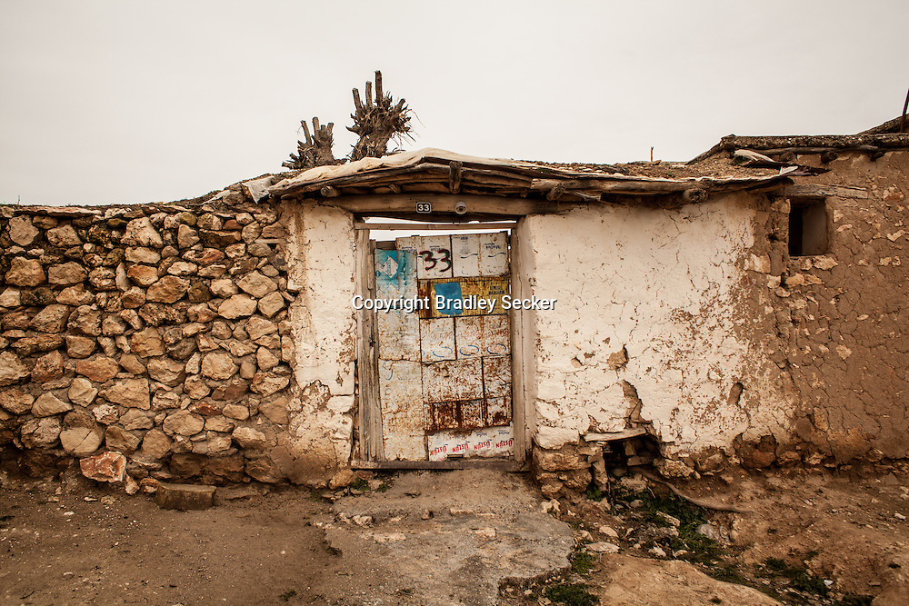 TEPECIK, TURKEY. FEBRUARY 20. Much of the village has started to be restored, but a great deal of work needs to be done, and primarily elderly people returned, without strength to rebuild their former homes.