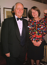 MR & MRS BRIAN BALDOCK he is the new chairman of Mencap, at a show in London on 7th December 1998.MMS 43