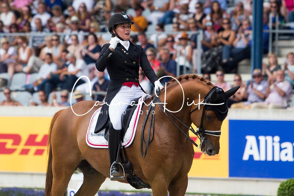Dufour Cathrine, DEN, Atterupgaards Cassidy<br /> Aachen 2018<br /> © Hippo Foto - Sharon Vandeput<br /> 19/07/18