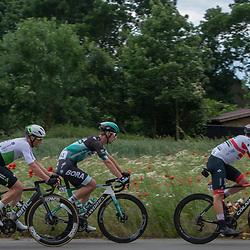 08-06-2019: Wielrennen: Hammer Series Sprint: Sittard<br /> Mark Renshaw, Erik Baska, Jasper Philipsen