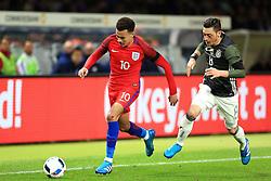 Englands Dele Alli is chased by Germanys Mesut Ozil  - Mandatory by-line: Matt McNulty/JMP - 26/03/2016 - FOOTBALL - Olympiastadion - Berlin, Germany - Germany v England - International Friendly