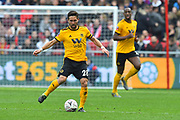 Joao Moutinho (28) of Wolverhampton Wanderers during the The FA Cup 5th round match between Bristol City and Wolverhampton Wanderers at Ashton Gate, Bristol, England on 17 February 2019.