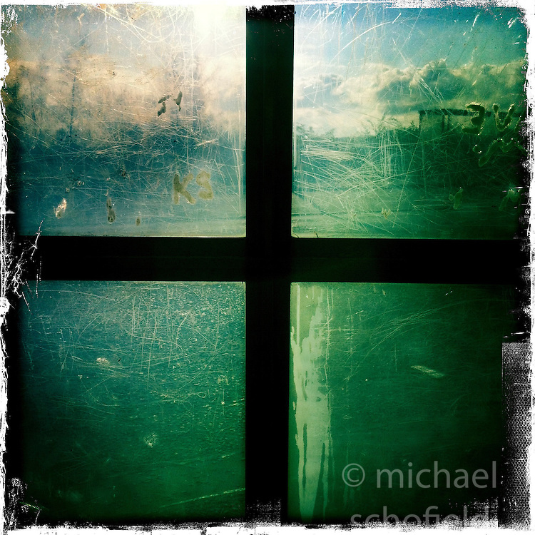 Window..Hipstamatic images taken on an Apple iPhone..©Michael Schofield.
