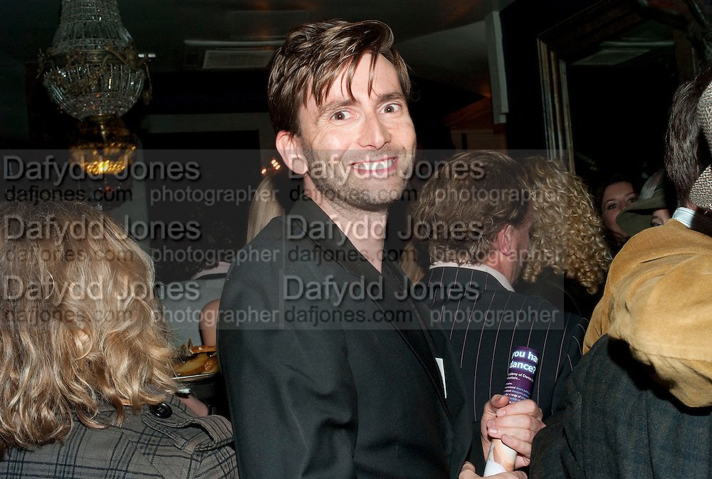 David Tennant, The afterparty following the press night of 'Speaking In Tongues', at the Jewel Bar, Maiden Lane. Covent Garden. London. September 28, 2009,