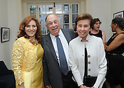 Hunter College President Jennifer J. Raab poses with Robert and Helen Appel, at the Hunter College Summer Garden Party, Tuesday, July, 8, 2014, at Roosevelt House in New York.  (Photo by Diane Bondareff/Invision for Hunter College/AP Images)