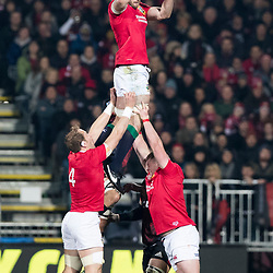 George Kruis during game 3 of the British and Irish Lions 2017 Tour of New Zealand,The match between  Crusaders and British and Irish Lions, AMI Stadium, Christchurch, Saturday 10th June 2017<br /> (Photo by Kevin Booth Steve Haag Sports)<br /> <br /> Images for social media must have consent from Steve Haag