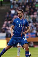 2.9.2017, Ratina Stadion, Tampere, Finland.<br /> FIFA World Cup 2018 Qualifying match, Finland v Iceland.<br /> Kári Árnason - Iceland