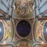 Basilica S Ignazio Rome, Italy