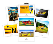 "Aerographs custom designed folios contain seven to nine images archivally printed on 8.5"" x 11"" Canson Baryta Photographique Fine Art paper. Image size is approximately 7"" x 9"". Embossed art paper enclosure. History of the aircraft and a colophon also included. Makes a fine gift. Satisfaction Guaranteed! $79..."
