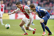 Onderwerp/Subject: Ajax - NEC - Eredivisie<br /> Reklame:  <br /> Club/Team/Country: <br /> Seizoen/Season: 2012/2013<br /> FOTO/PHOTO: Derk BOERRIGTER (L) of Ajax in duel with Kevin CONBOY (R) of NEC. (Photo by PICS UNITED)<br /> <br /> Trefwoorden/Keywords: <br /> #04 $94 ±1355239233217<br /> Photo- & Copyrights © PICS UNITED <br /> P.O. Box 7164 - 5605 BE  EINDHOVEN (THE NETHERLANDS) <br /> Phone +31 (0)40 296 28 00 <br /> Fax +31 (0) 40 248 47 43 <br /> http://www.pics-united.com <br /> e-mail : sales@pics-united.com (If you would like to raise any issues regarding any aspects of products / service of PICS UNITED) or <br /> e-mail : sales@pics-united.com   <br /> <br /> ATTENTIE: <br /> Publicatie ook bij aanbieding door derden is slechts toegestaan na verkregen toestemming van Pics United. <br /> VOLLEDIGE NAAMSVERMELDING IS VERPLICHT! (© PICS UNITED/Naam Fotograaf, zie veld 4 van de bestandsinfo 'credits') <br /> ATTENTION:  <br /> © Pics United. Reproduction/publication of this photo by any parties is only permitted after authorisation is sought and obtained from  PICS UNITED- THE NETHERLANDS