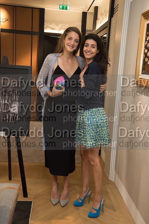 ANNA DE PAHLEN; NOOR BIN LADEN, preview of 'UNBRIDLED SYNCHRONY', an exhibition of works by photographer Astrid Muñoz. Jaeger-LeCoultre Boutique<br /> 13 Old Bond Street. London. 13 July 2015