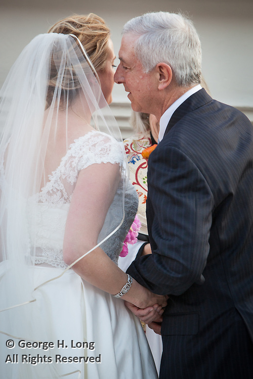 The wedding of Cecily Fogarty and Brian Bell on April 4, 2015